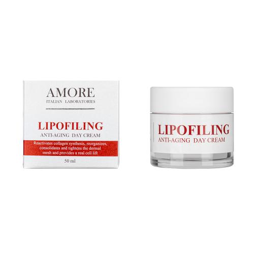 дневной антивозрастной крем с липофилинг комплексом amore italian laboratories