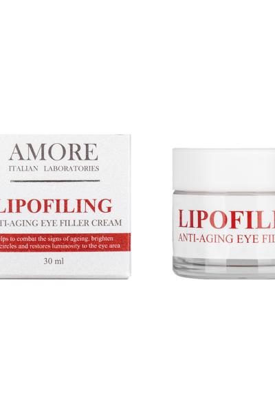 Концентрированный крем-филлер для зоны вокруг глаз с липофилинг комплексом, AMORE