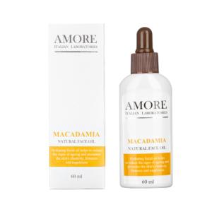 Натуральное масло макадамии для лица, AMORE ITALIAN LABORATORIES